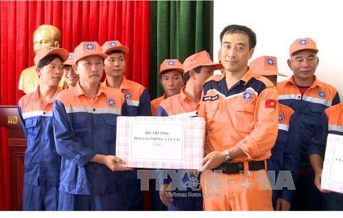 Nghệ An: Cứu thành công tàu cá cùng 17 thuyền viên bị nạn trên biển