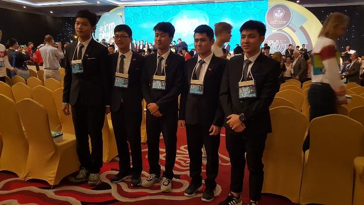 Việt Nam giành 4 Huy chương Vàng Olympic Vật lí quốc tế 2017
