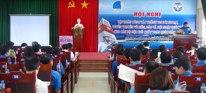 Nâng cao kiến thức thông tin đối ngoại và tuyên truyền biển, đảo cho Thanh niên