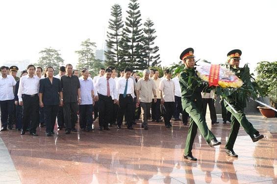 Thái Nguyên: Nhiều hoạt động kỷ niệm 70 năm Ngày Thương binh, liệt sĩ