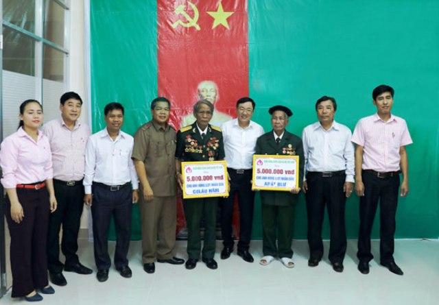Tri ân các Anh hùng lực lượng vũ trang nhân dân vùng biên giới Tây Giang