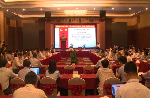 Giao ban các Ban Nội chính tỉnh ủy, thành ủy khu vực miền Trung - Tây Nguyên
