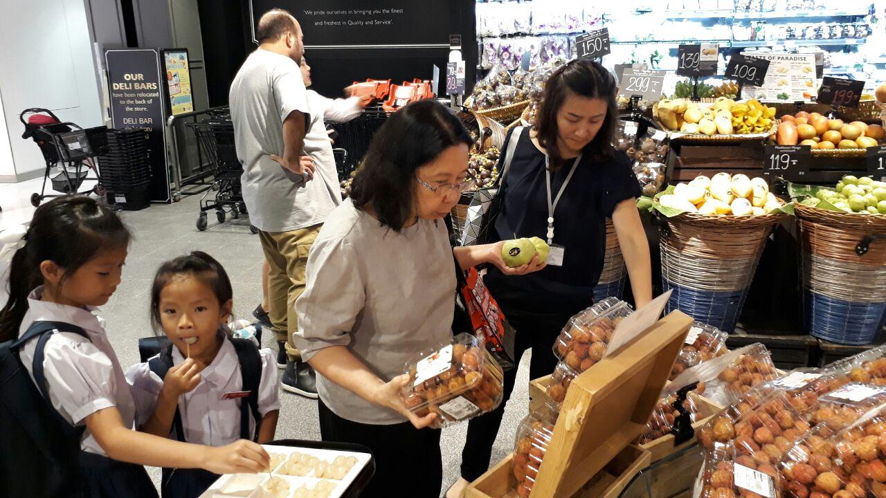 Vải thiều Việt Nam được nhiều người tiêu dùng Thái đón nhận