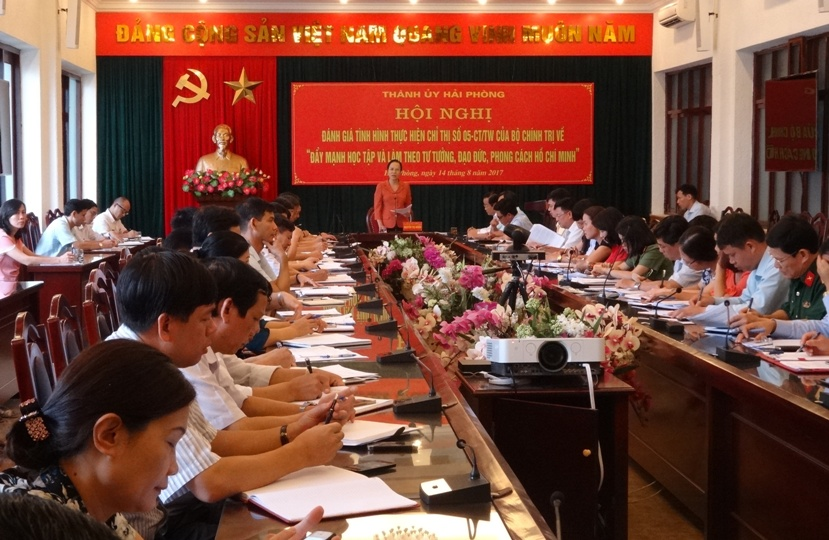 Hải Phòng: Sơ kết một năm thực hiện Chỉ thị 05-CT/TW của Bộ Chính trị