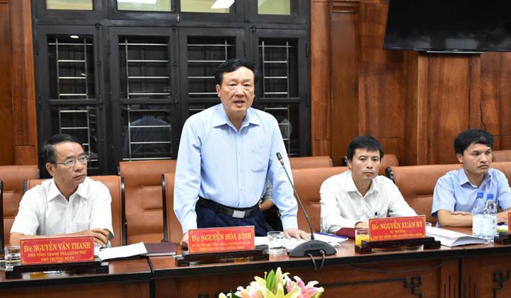 Triển khai kế hoạch kiểm tra, giám sát phòng, chống tham nhũng tại tỉnh Thừa Thiên - Huế