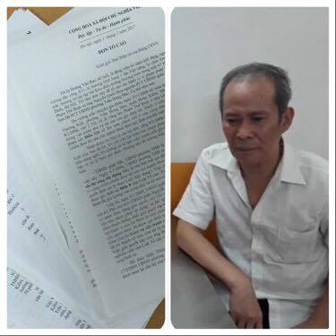 Hà Nội: Thương binh hỏng hai mắt với hàng trăm lá đơn kêu cứu