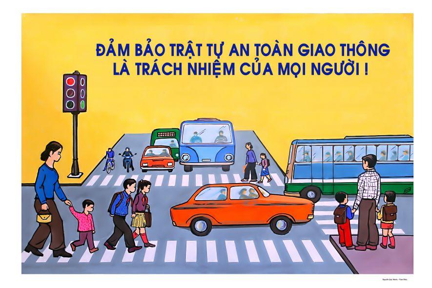 Đảm bảo an toàn giao thông nhân dịp Quốc khánh 02/9 và khai giảng năm học mới