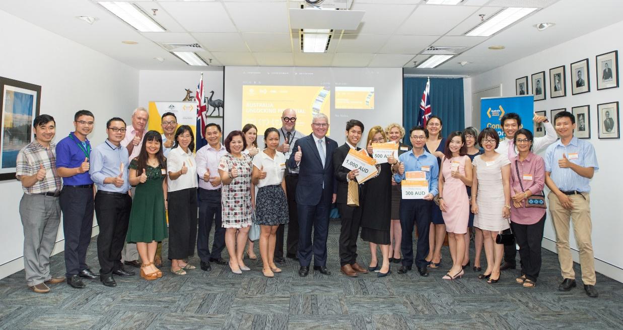 Đại sứ quán Australia trao giải cuộc thi phim ngắn cho sinh viên Việt Nam
