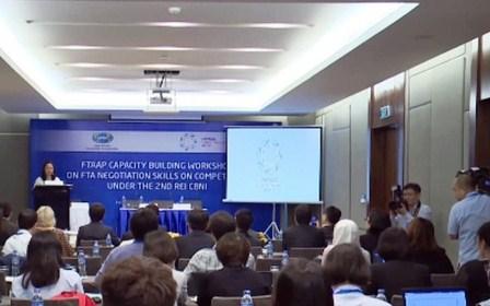 APEC 2017: Chia sẻ kỹ năng đàm phán về cạnh tranh trong các FTA