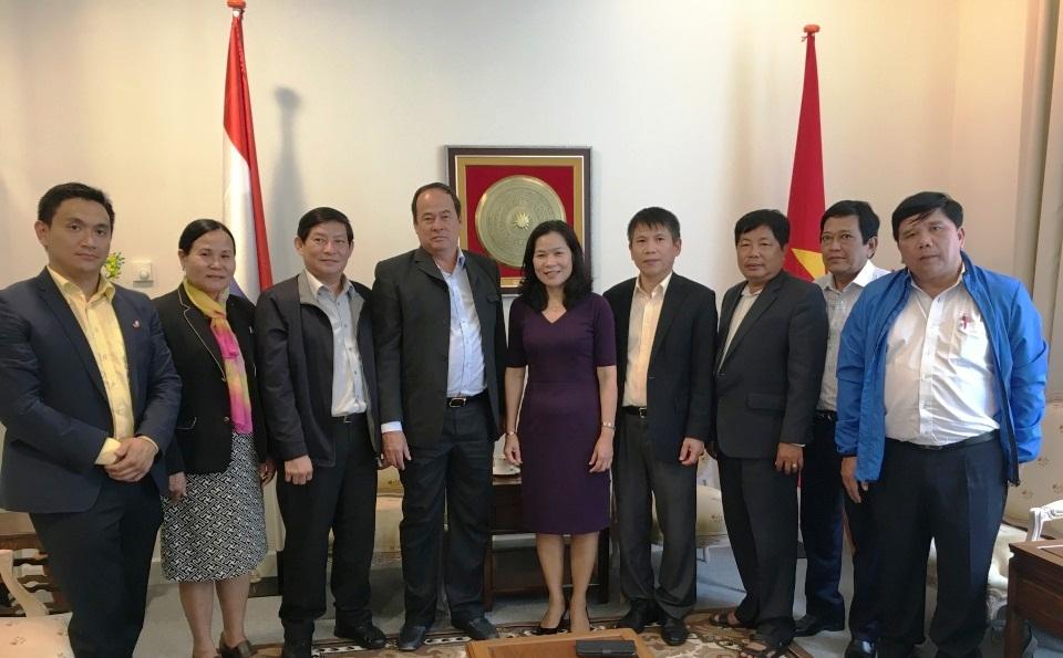 Thúc đẩy quan hệ hợp tác giữa tỉnh An Giang và Hà Lan