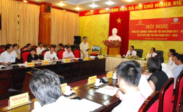 Hà Giang: Ký kết hợp tác phát triển nguồn nhân lực giai đoạn 2017-2020  