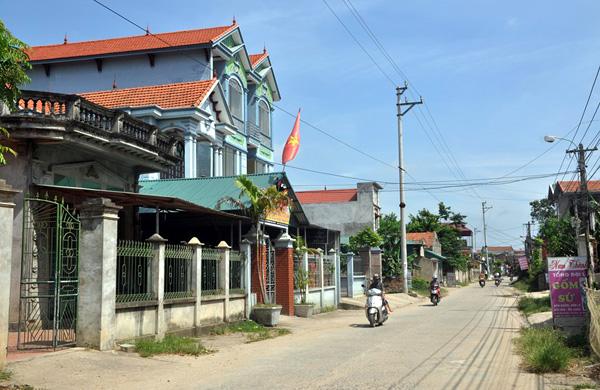 Hạ tầng nông thôn Vĩnh Phúc thay đổi nhanh, tạo tiền đề phát triển
