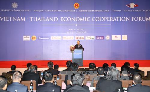 Thủ tướng Nguyễn Xuân Phúc dự Diễn đàn hợp tác kinh tế Việt Nam – Thái Lan
