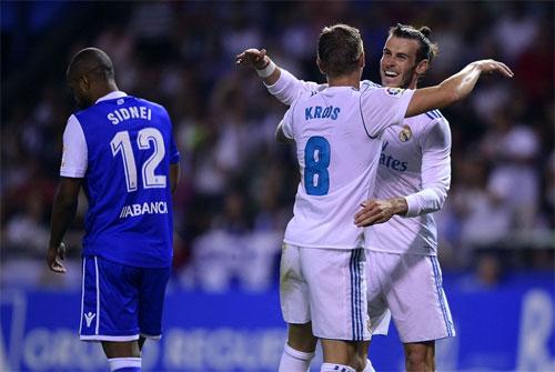 La Liga: Real Madrid chứng tỏ vị thế nhà vô địch