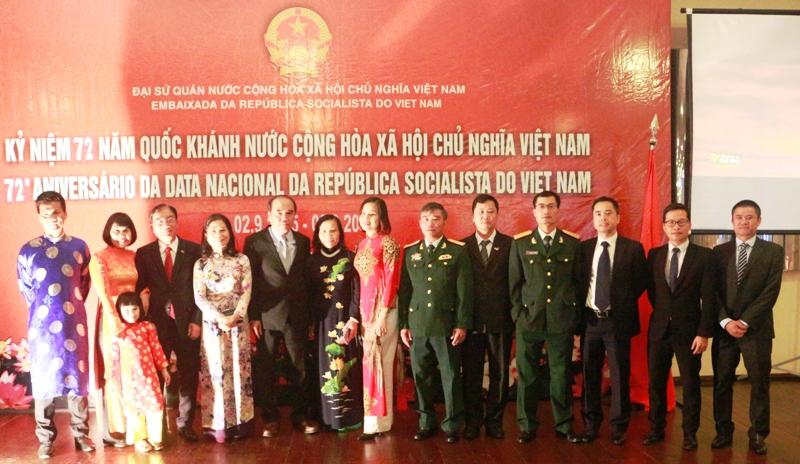 Kỷ niệm 72 năm Quốc khánh nước CHXHCN Việt Nam tại Brasil
