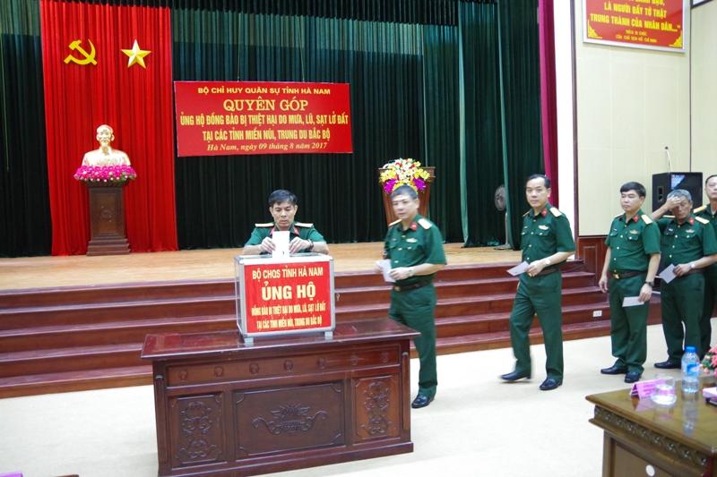 Đảng ủy Quân sự tỉnh Hà Nam: Học tập, quán triệt và triển khai thực hiện Nghị quyết Trung ương 5