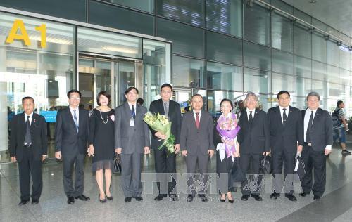 Chủ tịch Hội đồng Lập pháp Quốc gia Vương quốc Thái Lan bắt đầu thăm chính thức Việt Nam
