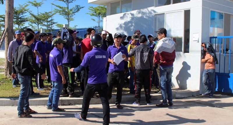 Công nhân Công ty TNHH MTV Ducksan Vina kiến nghị đòi quyền lợi chính đáng