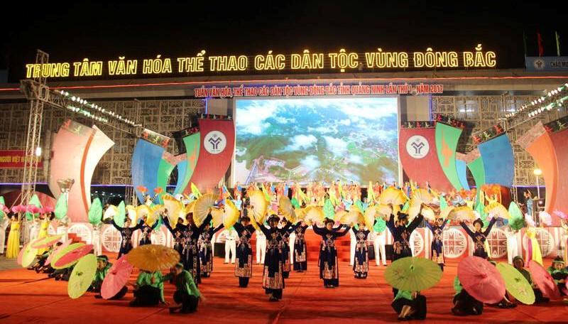 Khai mạc Tuần Văn hóa, Thể thao các dân tộc vùng Đông Bắc tỉnh Quảng Ninh lần thứ I – năm 2017
