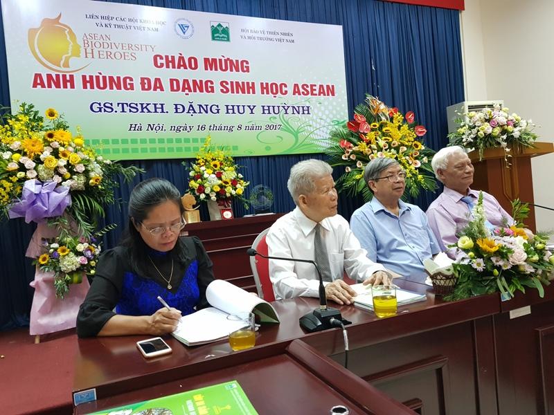 Vinh danh Anh hùng Đa dạng sinh học ASEAN - GS.TSKH Đặng Huy Huỳnh