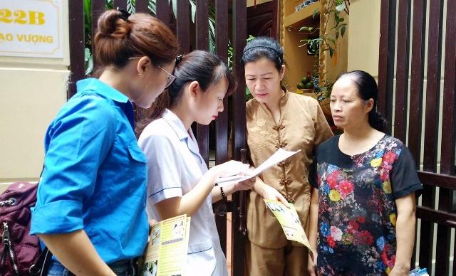 Tuổi trẻ Thủ đô đẩy mạnh tuyên truyền phòng, chống  dịch bệnh sốt xuất huyết