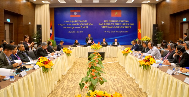 Hội nghị Bộ trưởng Lao động và Phúc lợi xã hội Việt Nam – Lào lần thứ 5