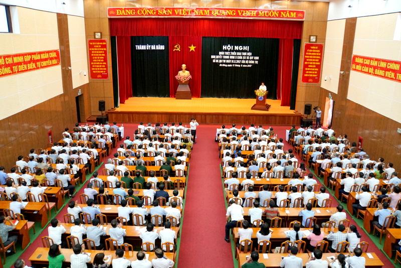Đà Nẵng: Quán triệt, triển khai thực hiện Nghị quyết Trung ương 5 khoá XII và Quy định về giám sát trong Đảng