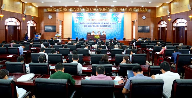 """Hội thảo """"Sáng tạo khoa học- công nghệ Việt Nam với sự nghiệp công nghiệp hóa, hiện đại hóa đất nước"""""""