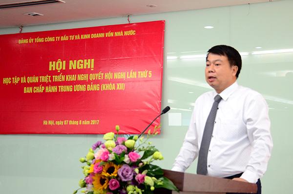 Đảng bộ SCIC quán triệt, triển khai Nghị quyết Trung ương 5 khóa XII