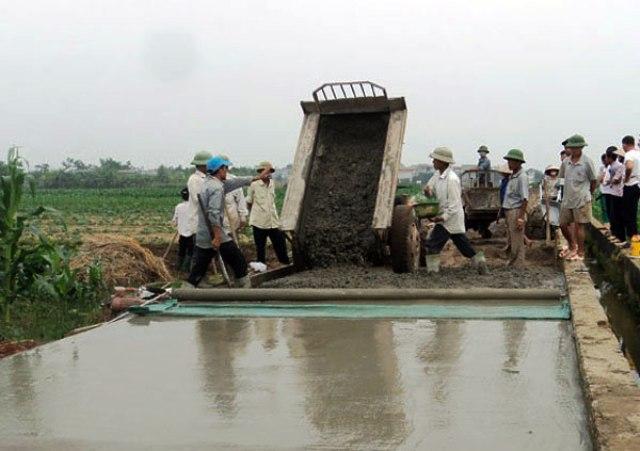 Giải ngân hơn 313 tỷ đồng cho xây dựng nông thôn mới
