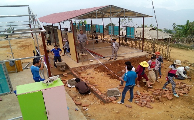 Điện Biên: Ba cấp học của huyện Tuần Giáo sẵn sàng cho năm học mới