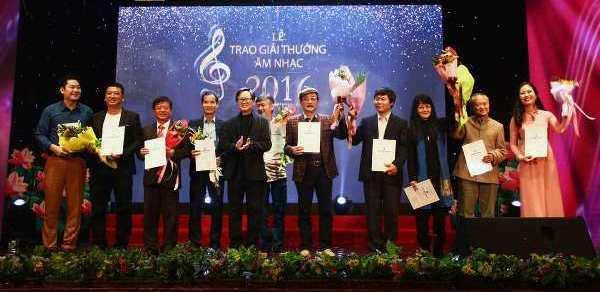Khởi động Giải thưởng Hội Nhạc sĩ Việt Nam 2017