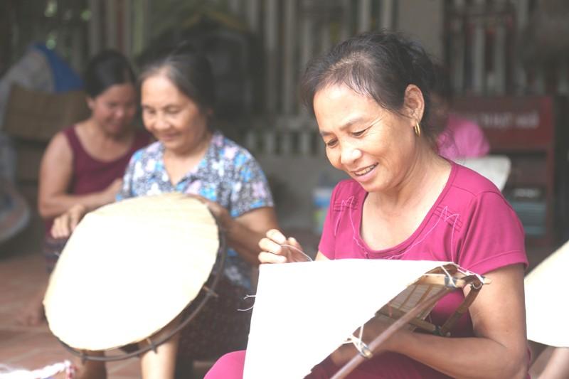 Làng nghề nón lá Sai Nga