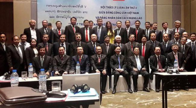 Bế  mạc Hội thảo Lý luận lần thứ 5 giữa Đảng Cộng sản Việt Nam và Đảng Nhân dân Cách mạng Lào