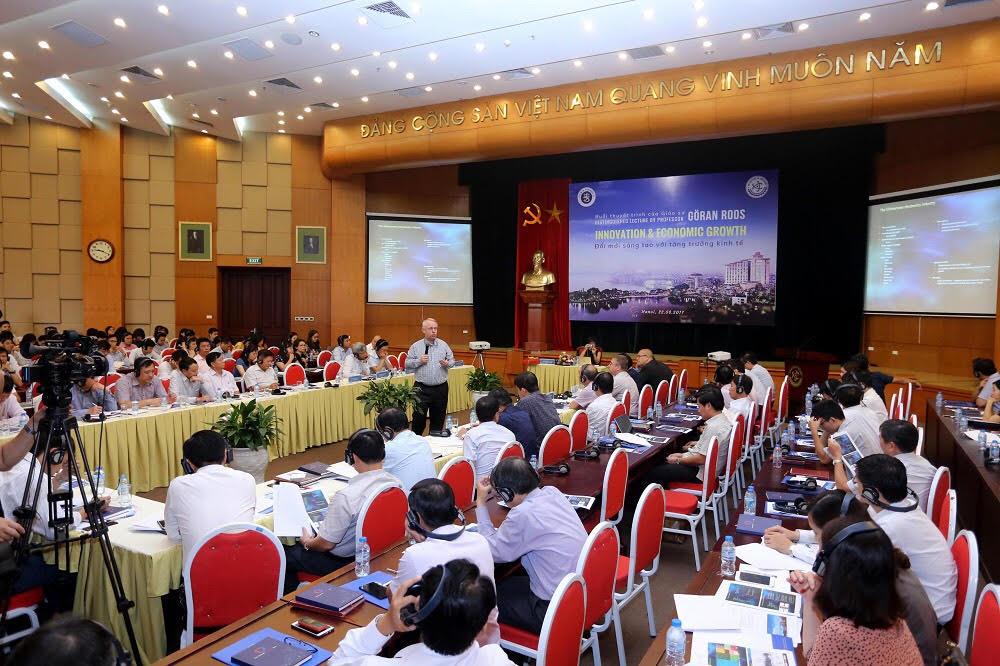 Nâng cao năng lực cho cán bộ hoạch định chính sách Việt Nam về quản trị đổi mới sáng tạo