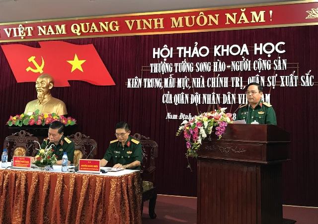 Thượng tướng Song Hào – Người cộng sản kiên trung, mẫu mực, nhà chính trị, quân sự xuất sắc của Quân đội nhân dân Việt Nam
