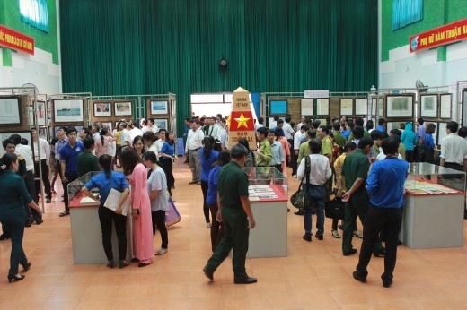 """Bình Thuận: Triển lãm """"Hoàng Sa, Trường Sa của Việt Nam – những bằng chứng lịch sử và pháp lý"""""""