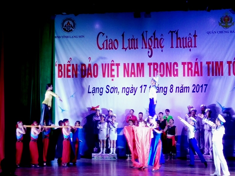 """Giao lưu nghệ thuật """"Biển đảo Việt Nam trong trái tim tôi"""""""