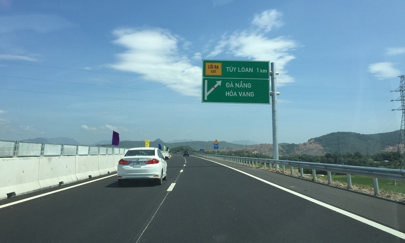 Thông xe kỹ thuật một phần đường cao tốc Đà Nẵng – Quảng Ngãi