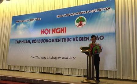 Tập huấn, bồi dưỡng kiến thức biển, đảo cho cán bộ Hội Người cao tuổi Việt Nam