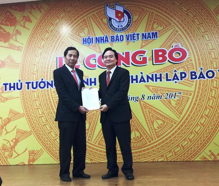 Công bố Quyết định của Thủ tướng thành lập Bảo tàng Báo chí Việt Nam