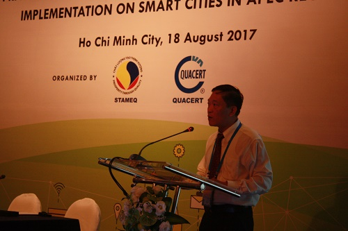 Chia sẻ kinh nghiệm hướng tới phát triển bền vững mô hình Đô thị thông minh trong khu vực APEC