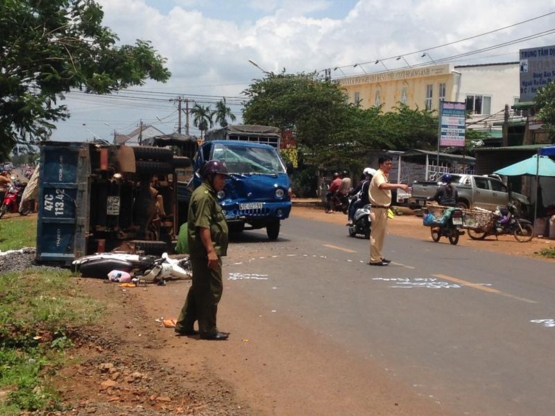 Đắk Lắk: Tai nạn giao thông trên quốc lộ 26 làm 3 người thương vong