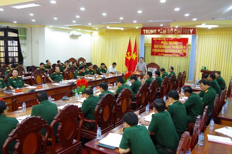 Đảng ủy Quân sự tỉnh Sóc Trăng thực hiện tốt công tác cán bộ và quản lý đội ngũ cán bộ