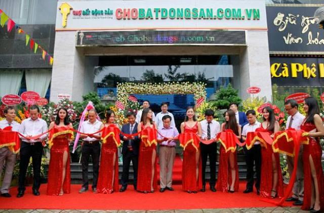 Khai trương chợ bất động sản đầu tiên tại Hà Nội