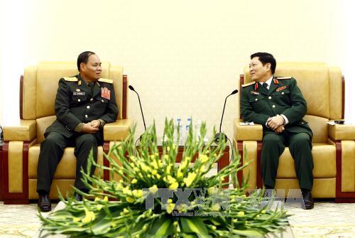 Chủ nhiệm Tổng cục Chính trị Quân đội nhân dân Lào thăm chính thức Việt Nam