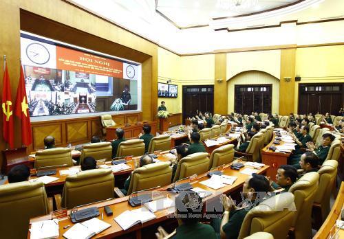 Cán bộ chủ chốt toàn quân học tập, quán triệt, triển khai thực hiện Nghị quyết Trung ương 5 (khóa XII)