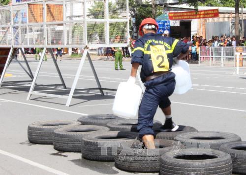 Khai mạc hội thi thể thao nghiệp vụ cứu nạn, cứu hộ của lực lượng Cảnh sát Phòng cháy chữa cháy
