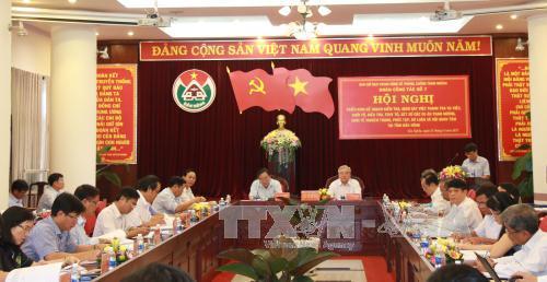 Ban Chỉ đạo Trung ương về phòng, chống tham nhũng làm việc tại tỉnh Đắk Nông