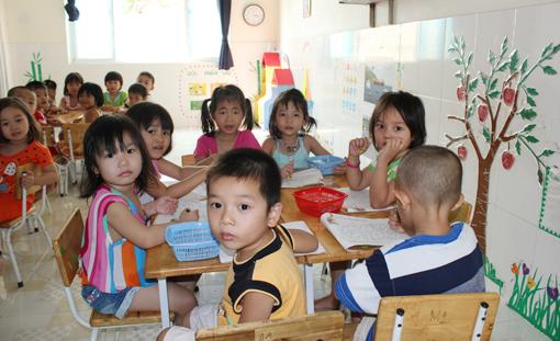 Bình Dương: Đẩy mạnh xã hội hóa ngành giáo dục mầm non